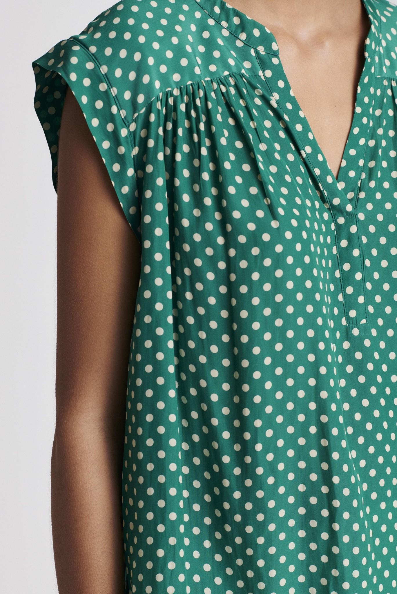 NORMA - Блузка из струящейся ткани