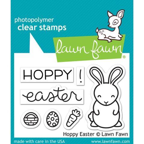 Набор штампов Lawn Fawn Clear Stamps 5х8см - Hoppy Easter
