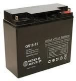 Аккумулятор General Security GS 18-12 ( GS12-18 ) ( 12V 18Ah / 12В 18Ач ) - фотография