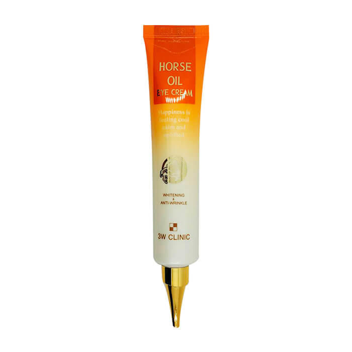 Крем для век 3W Clinic Horse Oil Eye Cream