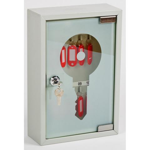 Метал.Мебель OfficeForce Шкаф для 10 ключей, стекл.дверца, 20083, 200х80х