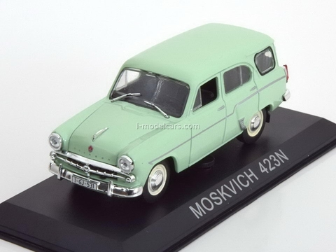 Moskvich-423N light green 1:43 DeAgostini Masini de legenda #48