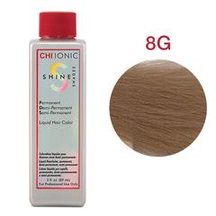 CHI Ionic Shine Shades Liquid Color 8G  (Средний золотой блондин) - Жидкая краска для волос