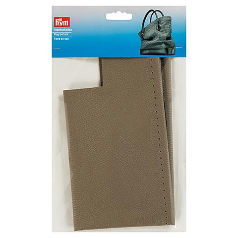 Дно для сумки Caroline, серо-коричневый, иск. кожа, размер в готовом виде 32x12x6 cм, Prym (Арт. 615925)