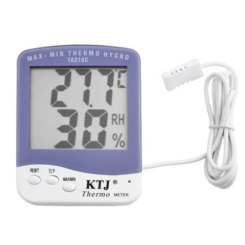 Термометр c гигрометром 218C (наружный)
