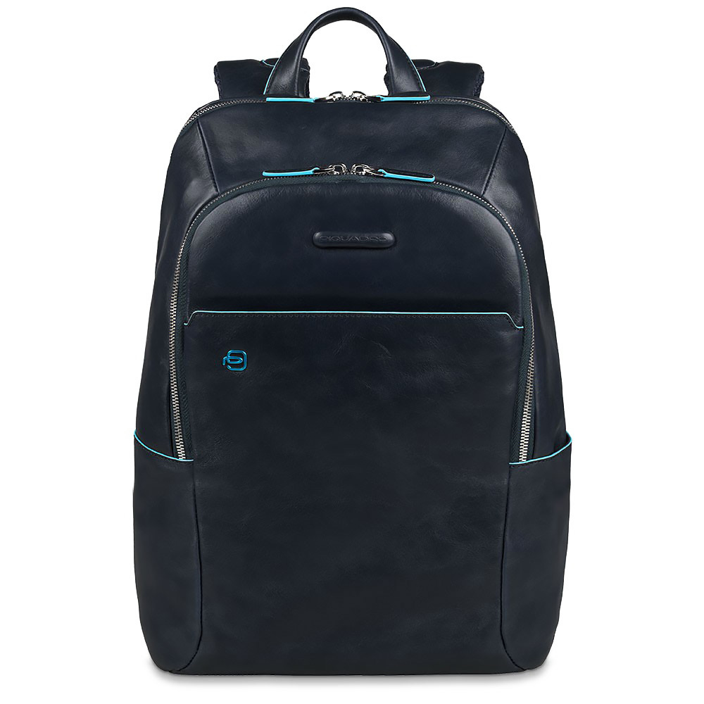 Рюкзак Piquadro Blue Square, цвет синий, 27,5х39х15 см (CA3214B2/BLU2)