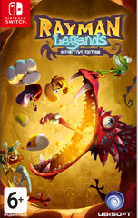Nintendo Switch Rayman Legends: Definitive Edition (русские субтитры)