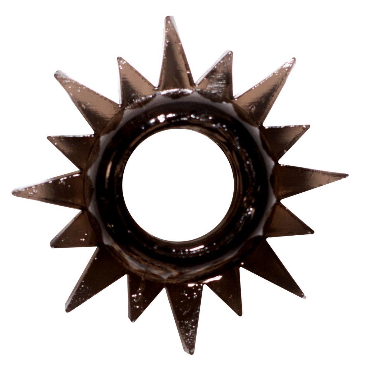 Эрекционные кольца: Чёрное эрекционное кольцо Rings Cristal