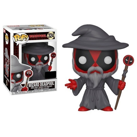 Wizard Deadpool Funko Pop! Vinyl Figure