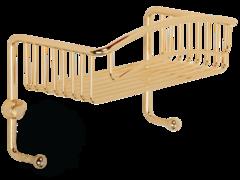 Решетка одинарная с 2-мя крючками Migliore Complementi H15х26хP15cm ML.COM-50.601