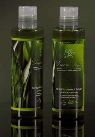 Liv-delano Green Style Мицеллярная вода успок. д/очищ. лица  200гр