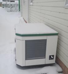 Шумозащитный всепогодный миниконтейнер для генератора цвет по RAL заказчика