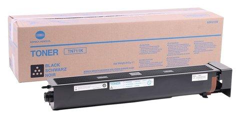 Тонер Konica Minolta TN-711K черный (black) (A3VU150)