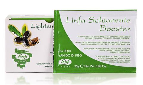 Порошковый усилитель осветления волос Linfa Schiarente Booster Lightener Powder 12x25мл