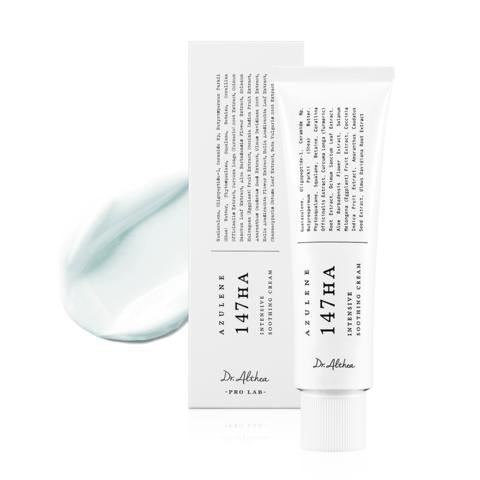 Успокаивающий восстанавливающий крем с азуленом, 50 г / Dr. Althea AZULENE 147 HA Intensive Soothing Cream