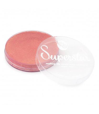 067 Аквагрим Superstar 45 гр перламутровый персиковый с блестками
