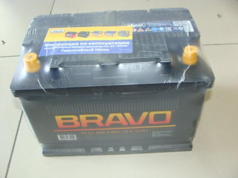 Аккумулятор  6СТ-74 ВRAVO А3 EN 650 (280/190/175) АКОМ