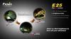Купить Светодиодный яркий фонарь Fenix E25 260 люмен (34258) по доступной цене