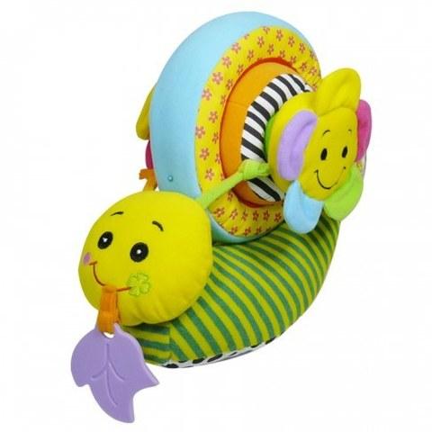 Игрушка развивающая Biba Toys УЛИТКА BS370