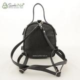 Рюкзак Саломея 1020 фольга черная