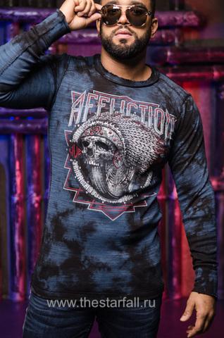 Пуловер двусторонний  Affliction SPIKER IMPACT