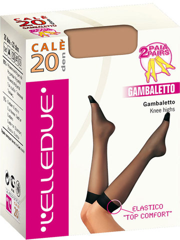 Гольфы Cale 20 Gambaletto (2 пары) Elledue