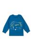 Пижама для мальчика синяя Ёжик
