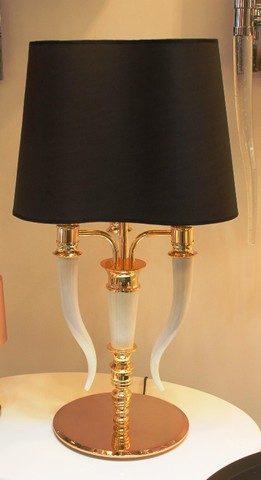 replica Brunilde table lamp (black)