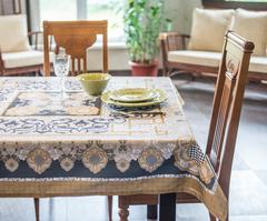 Скатерть 140x140 Blonder Home Broderick оливковая