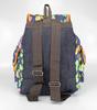 Молодежный рюкзак Бабочки Темно-синий