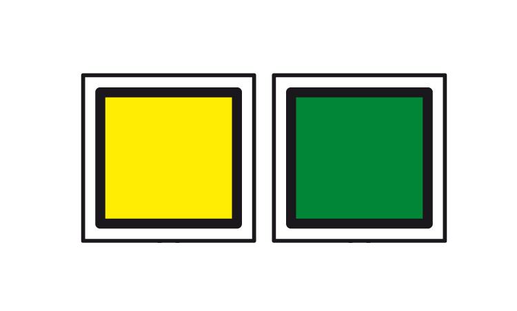 Железнодорожный знак переносной сигнал «Уменьшение скорости»