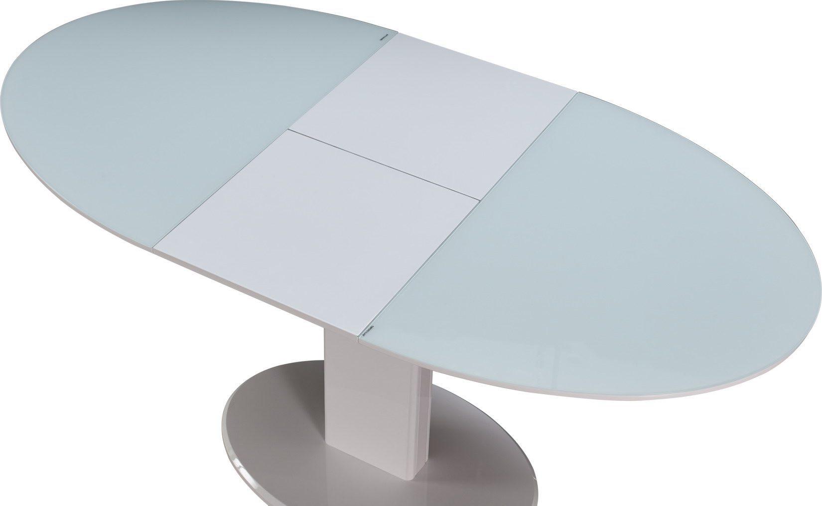 Стол B2396 белый (овальный)