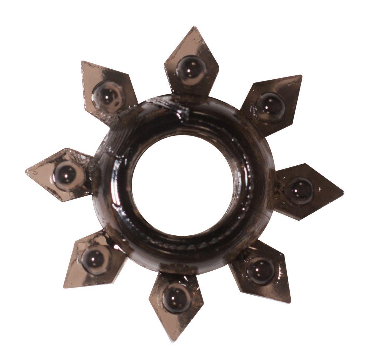Эрекционные кольца: Чёрное эрекционное кольцо Rings Gear