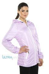 Летняя слингокуртка ветровка для беременных 3в1, сиреневая