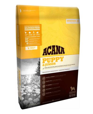 Acana Heritage Puppy & Junior сухой корм для щенков 2 кг
