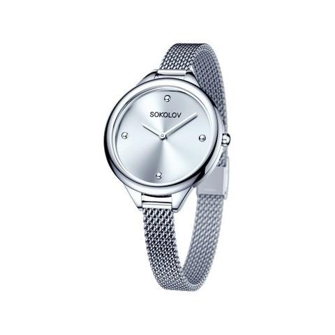Женские стальные часы SOKOLOV  арт. 306.71.00.000.01.01.2