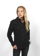 Моторубашка женская John Doe Kevlar, чёрный