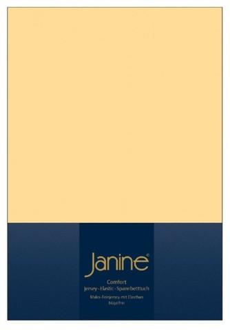 Элитная простыня на резинке Elastic-Jersey 5002 ваниль от Janine