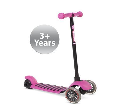 Самокат Yvolution Glider Deluxe розовый