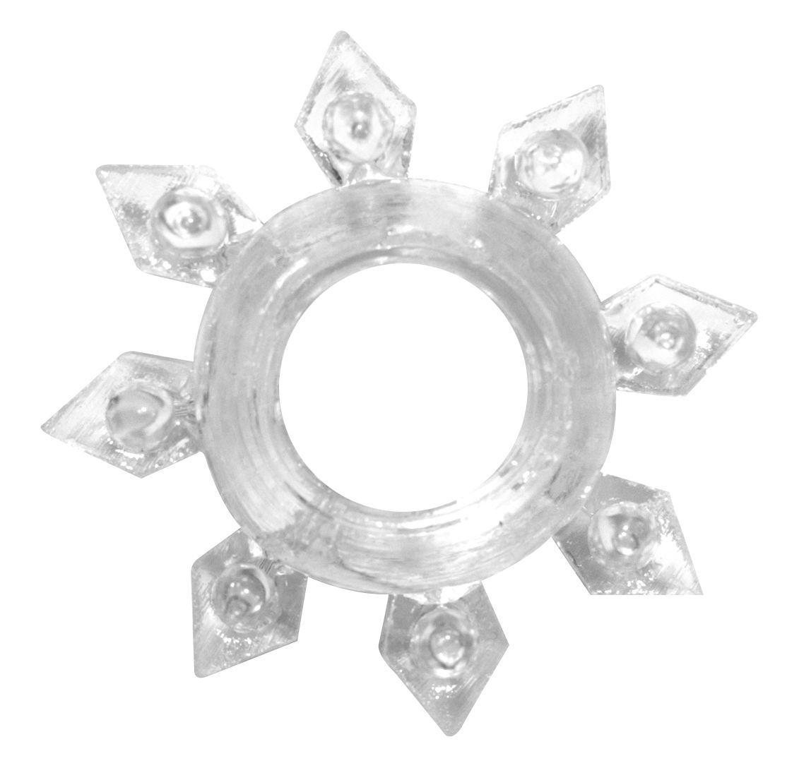 Эрекционные кольца: Прозрачное эрекционное кольцо Rings Gear