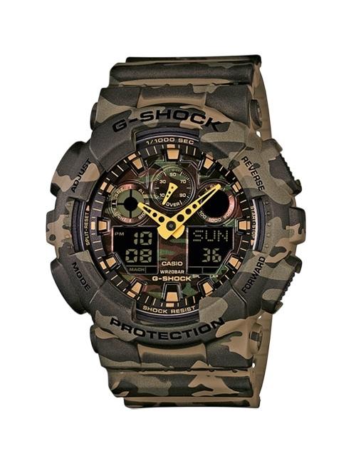 Часы мужские Casio GA-100CM-5AER G-Shock