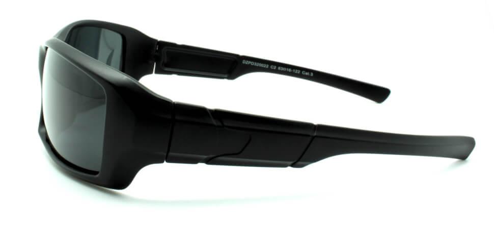 Очки поляризационные для рыбаков туристов водителей DARIO DZP320022-C2 серые 11%