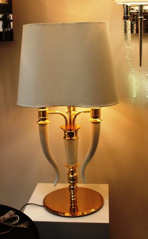 replica  Brunilde table lamp (white)
