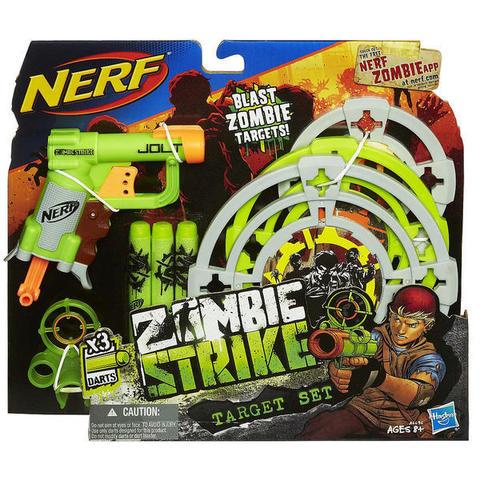 Hasbro: Бластер Nerf Зомби Страйк + 3 мишени A6636