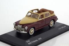 GAZ-M20 Pobieda cabriolet 1950 darkred-creme WhiteBox 1:43