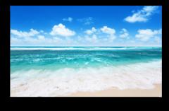 """Постер """"Морской рай"""""""