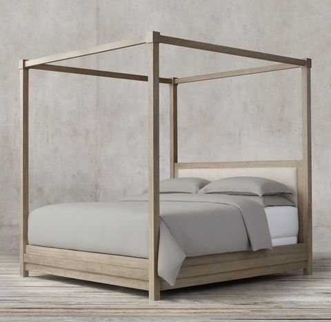 Stacked Canopy Bed