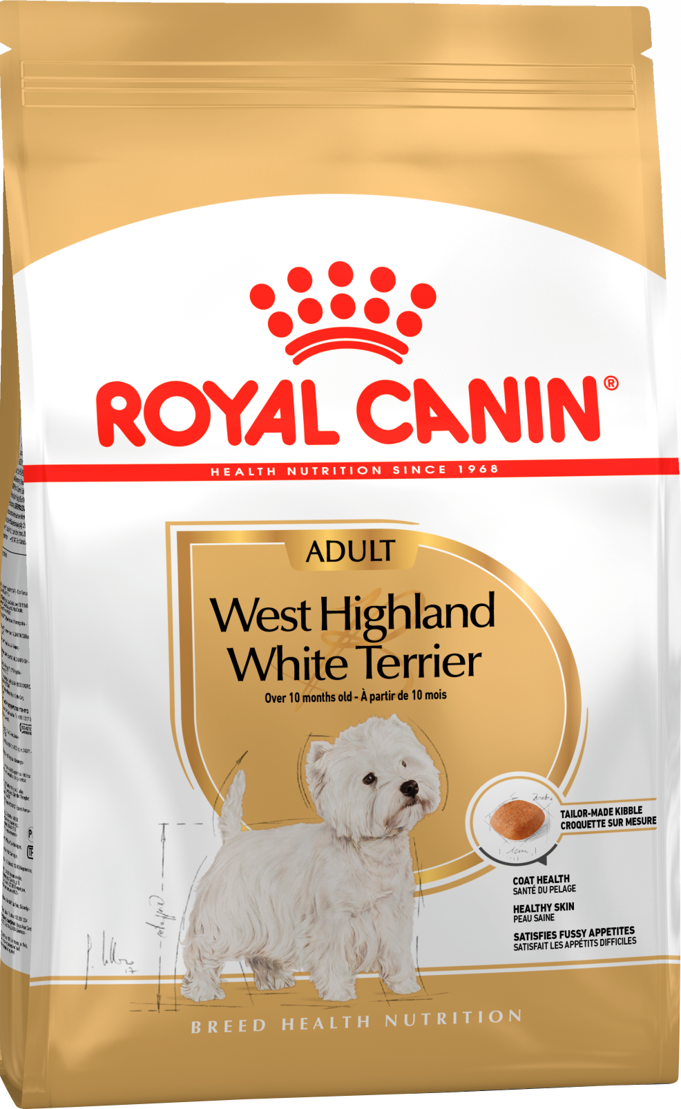 Royal Canin Корм для собак породы Вест хайленд вайт терьер, Royal Canin Westie Adult 172015.png