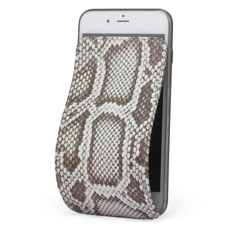 Чехол для iPhone 8 из натуральной кожи питона, цвета Natur