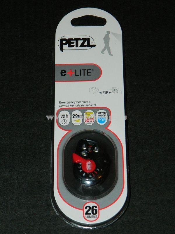 светодиодный фонарь Petzl e LITE zip цена